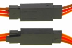 Servoverlängerung mit Sicherungsclip (selbstsichernd) 50cm