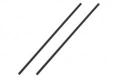 Antennenrohr 15cm 2 Stück in schwarz