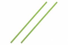 Antennenrohr 15cm 2 Stück in grün
