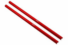 Rakonheli Heckrohr Alu in rot für Blade 130 S