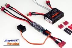 Futaba Empfänger mit doppelter Akkuweiche R7018SB 2,4 GHz FASST/FASSTest