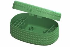 Lynx Transportbox DOT Edition für bis zu 28 Akkus in grün für Blade Inductrix FPV