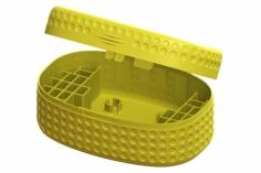 Lynx Transportbox DOT Edition für bis zu 28 Akkus in gel für Blade Inductrix FPV