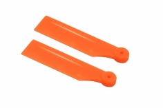 OXY Ersatzteil Kunststoff Heckrotorblätter in orange 41mm für OXY2