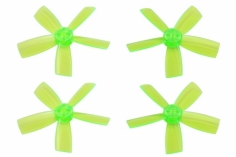Rakonheli Propellerset 5 Blatt 2035 in transparentem grün 4 Stück für Blade Torrent 110 FPV