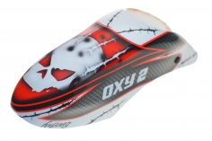 Fusuno Masky Design Airbrush fiberglas Kabinenhaube für OXY2