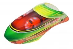 Fusuno Skoul Design Airbrush fiberglas Kabinenhaube für OXY2