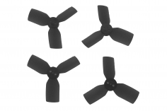 HQ Durable Prop Propeller 1.9X3X3 1930-3 aus Poly Carbonate in schwarz je 2CW+2CCW