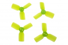 HQ Durable Prop Propeller 1.9X3X3 1930-3 aus Poly Carbonate in grün transparent je 2CW+2CCW