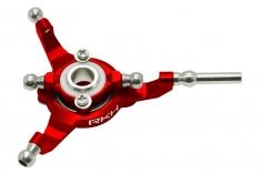 Rakonheli Taumelscheibe in rot für Blade 130 S, 150 S, und 180 CFX