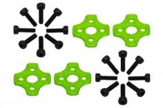 Rakonheli Motor Vibrationsdämpfer in grün für Blade Torrent 110 FPV 4 Stück