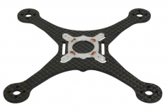 Rakonheli Carbon Hauptrahmen mit Motor Soft Mount Dämpfer für Blade Torrent 110 FPV