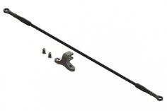 OXY Ersatzteil Heckanlenkungsgestänge für Strecht Variante 215mm in schwarz 2 Stück für den OXY2