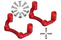 Rakonheli Halterung für Flugcontroller in rot für Rakonheli Brushless Whoop FPV Rahmen 66BLW und 76BLW