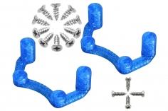 Rakonheli Halterung für Flugcontroller in blau für Rakonheli Brushless Whoop FPV Rahmen 66BLW981