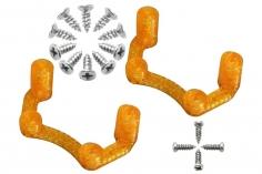 Rakonheli Halterung für Flugcontroller in orange für Rakonheli Brushless Whoop FPV Rahmen 66BLW981