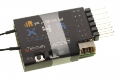 FrSky Taranis Empfänger X4RSB 2,4Ghz mit Telemetrie (S.Port / SBUS / CPPM*)