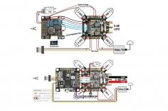 Matek PDB FC HUB-6S 5V und 10V BEC und Current Sensor mit 184 Ampere