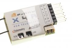 FrSky Taranis Empfänger X4R 2,4Ghz mit Telemetrie (S.Port / CPPM*)