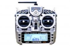 FrSky Taranis X9D Plus Sender 2,4GHz in Mode 2 mit englischer Menüführung