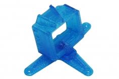 Rakonheli Kamerahalterung mit 20° Neigungswinkel für die FXT FX805 Kamera in blau für Blade Inductrix FPV PRO und Rakonheli