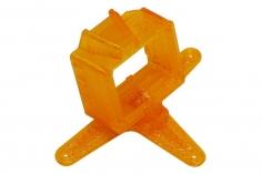 Rakonheli Kamerahalterung mit 20° Neigungswinkel für die FXT FX805 Kamera in orange für Blade Inductrix FPV PRO und Rakonheli