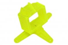 Rakonheli Kamerahalterung mit 20° Neigungswinkel für die FXT FX805 Kamera in gelb für Blade Inductrix FPV PRO und Rakonheli