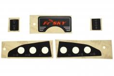 FrSKY Taranis Ersatz Gehäusebeschriftungsaufkleber für FrSky X9D Plus