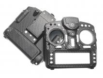 FrSKY Taranis Gehäuse Special-Edition für FrSky X9D Plus im Carbon-Fiber Design