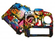 FrSKY Taranis Gehäuse Special-Edition für FrSky X9D Plus im Rock Monster Design