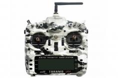 FrSky Taranis X9D Plus Sender 2,4GHz in Mode 2  mit englischer Menüführung, Special-Edition mit M9 Gimbal mit Hall-Sensoren und Softcase im Camouflage Design