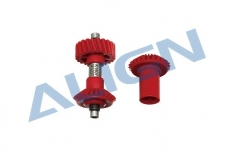 Align Vorderes Heckrotorgetriebe für Starrantrieb M1 mit 23 Zähnen für T-REX 700 bis 800