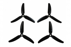 HQ Durable Prop Propeller 4X4,3X3V1S aus Poly Carbonate in schwarz je 2CW+2CCW