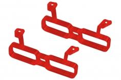 Rakonheli Akku Halterung für 2 Akkus in rot für Rakonheli Brushless Whoop FPV Rahmen