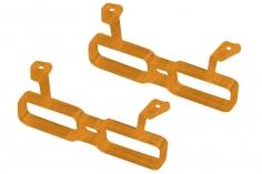 Rakonheli Akku Halterung für 2 Akkus in orange für Rakonheli Brushless Whoop FPV Rahmen
