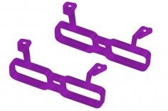 Rakonheli Akku Halterung für 2 Akkus in violet für Rakonheli Brushless Whoop FPV Rahmen