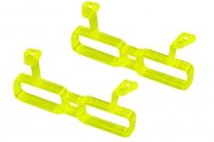 Rakonheli Akku Halterung für 2 Akkus in gelb für Rakonheli Brushless Whoop FPV Rahmen