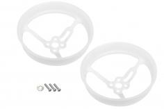 Rakonheli Propellerschützer aus Delrin 40mm für Rakonheli Rahmen für den Brushles Whoop FPV 76mm