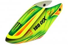 Lionheli GFK Haube im Monster Design 03 gelb/grün für den Blade 180 CFX