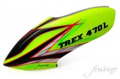 Fusuno Viper Airbrushed fiberglass Haube für T-REX 470L
