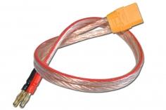 Anschlusskabel für das Pulsar 3+ Ladegerät mit Anschlussstecker 4mm am Netzteil