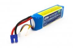 E-flite 3S 11,1V 3000mAh 30C LiPo-Akku m. EC3-Stecker