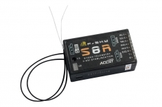 FrSky Taranis Empfänger S8R / LBT 2,4Ghz mit S.Port und 3 Achsen Gyro