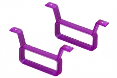 Rakonheli Akku Halterung 17 x 6.5 mm in violet für Rakonheli Brushless Whoop FPV Rahmen