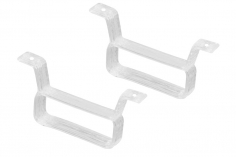 Rakonheli Akku Halterung 17 x 6.5 mm in weiß für Rakonheli Brushless Whoop FPV Rahmen