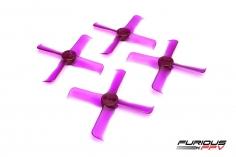 Furious FPV FleekProp Propeller 2036-4 in violet 4 Stück je 2x cw und ccw