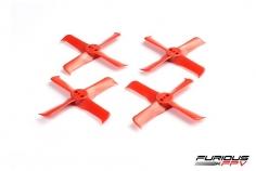 Furious FPV FleekProp Propeller 2036-4 in rot 4 Stück je 2x cw und ccw
