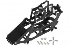 Rakonheli Hauptrahmen aus Carbon in schwarz für Blade 130 S