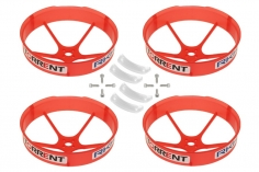 Rakonheli Propellerschützer in transparentem rot 59mm für den Blade Torrent 110 FPV