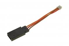 Spektrum Servo Adapter (Servobuchse) auf E-flite JST-ZHR 1.5mm (Stecker)